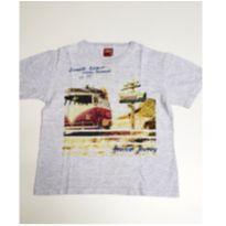 Camiseta infantil em malha Kyly - 8 anos - Kyly