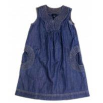 Vestido infantil jeans Tommy Hilfiger - 6 anos - Tommy Hilfiger