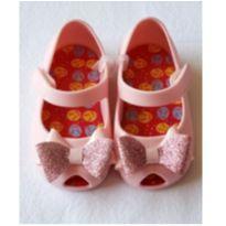 Sapatilha Pimpolho Rosa Bebê com Glitter Tam 19 - 19 - Pimpolho