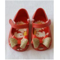 Sapatilha Pimpolho Vermelha com Glitter  Tam 19 - 19 - Pimpolho