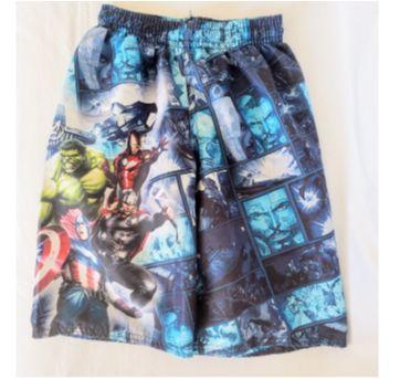 Bermuda Infantil Avengers Vingadores - 8 anos - Avengers