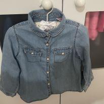 Camisa jeans_Zara Kids - 12 a 18 meses - Zara Kids