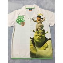 Camisa Shrek - TAM 6 - 6 anos - Brandili