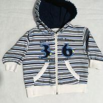Blusão Moletom Bebê Baby Club - TAM M (3/6 meses) - 3 a 6 meses - Baby Club