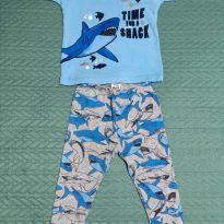 ae4150b4a KIKKA KIDS Body manga curta e Calça Carter`s Tubarão - TAM 9/12 meses.  Marca: Carter`s e Child of Mine [ 9 meses ] de R$ 35,00