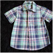 Camisa xadrez Carter`s 18 meses - 18 meses - carter`s, baby gap, zara