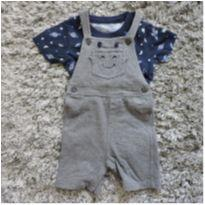 Macacão Shorts Espaço Carters - Tam. 24 meses - 18 a 24 meses - Carter`s