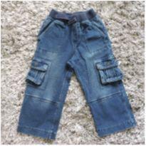 Calça Jeans com bolsos lateral - 2 anos - Genuine Kids  OshKosh