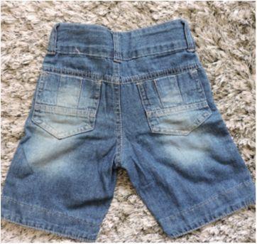 Bermuda Jeans Tam. 1 - 1 ano - Kiko