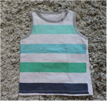 Camiseta regata - Tam. 1 - 1 ano - Poim, Cherokee e Up Baby