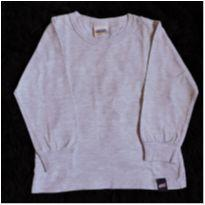Camiseta manga longa cinza - 2 anos - Duzizo