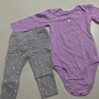 Conjunto corujas - 9 a 12 meses - Child of Mine