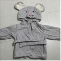 Roupão de ratinho - 3 a 6 meses - Não informada