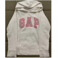 Blusa de moletom branca GAP - 8 anos - GAP