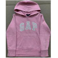 Blusa de moletom rosa GAP - 6 anos - GAP