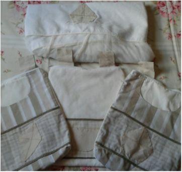 Conjunto para Berço e Quarto. - Sem faixa etaria - Medina bordados e confecções