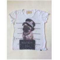 CAMISETA PUG - 12 anos - TWO IN