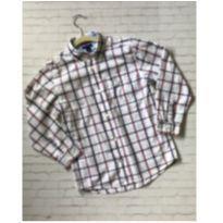 camisa infantil tommy hilfiger - 7 anos - Tommy Hilfiger