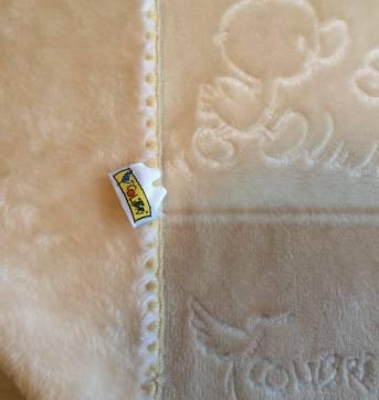 Cobertorzinho Colibri Bege - Sem faixa etaria - Colibri