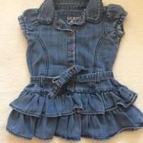 Vestidinho Guess Jeans - 12 a 18 meses - Guess
