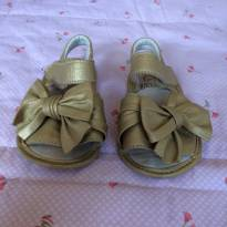 Sandália dourada Gambo Premium Shoes - 18 - gambo