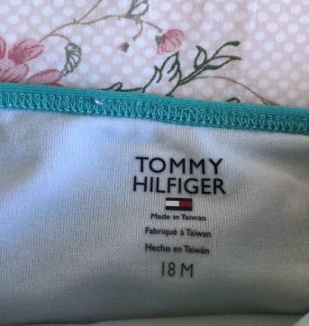 Biquíni Tommy - 18 meses - Tommy Hilfiger