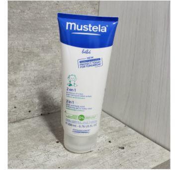 Gel 2 em 1 Mustela - Sem faixa etaria - Mustela