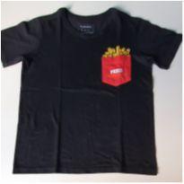 Camiseta Fritas! - 5 anos - Fuzarka