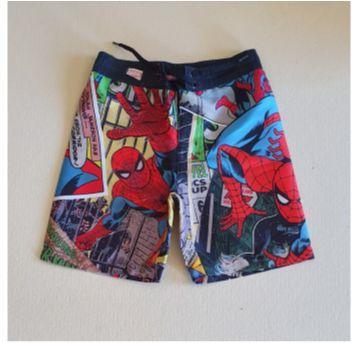 "Bermuda desenho ""Spiderman!"" - 4 anos - C&A"