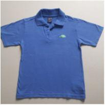 Camiseta polo azul - 4 anos - Tigor T.  Tigre