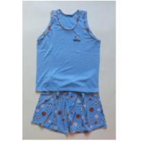 Pijama basquete - 8 anos - Outra