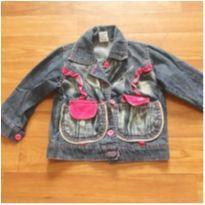 jaqueta jeans - 9 a 12 meses - Sem marca