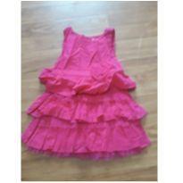 vestido pink divino - 24 a 36 meses - yoyo Baby