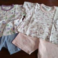 Kit pijama verão - 12 a 18 meses - Sonho real