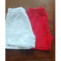 Kit shorts - 6 a 9 meses - Raphelly