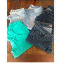 Lote Calça Jeans - M - 40 - 42 - Diversas