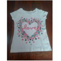 Camiseta Carter`s love - 5 anos - Carter`s