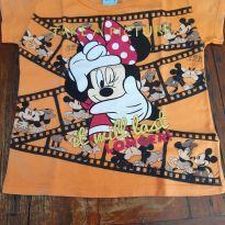 Camiseta minie - 6 anos - Disney