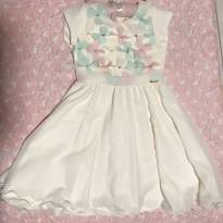 Vestido flores, pérolas e strass - 3 anos - Miss Sweet