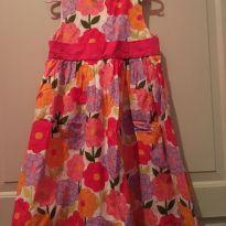 Vestido floral Gymboree - 5 anos - Gymboree