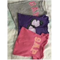 Trio de blusinhas - 3 anos - Baby Gap
