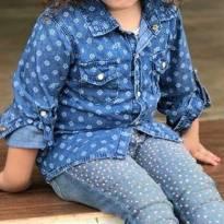 Camisa Jeans Lilica - 4 anos - Lilica Ripilica