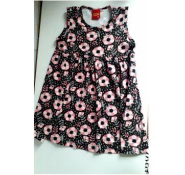 Vestido florzinhas - 6 anos - Kyly