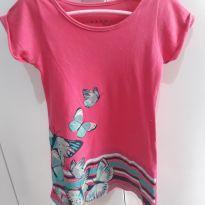 Vestido rosa - 4 anos - mineraal kids