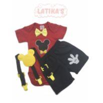 Conjunto Do Mickey - 6 a 9 meses - Latika`s Baby