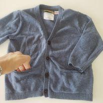Cardigã azul - 12 a 18 meses - Zara Baby