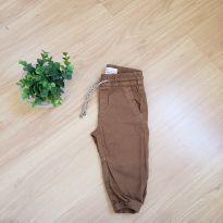 Calça marrom - 6 a 9 meses - baby Demim