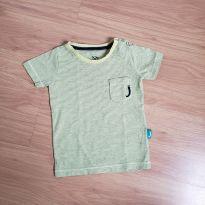 camiseta listrada - 12 a 18 meses - Jokempô