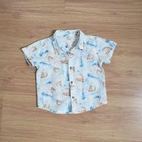 Camisa tropical - 12 a 18 meses - Teddy Boom