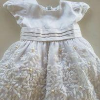 Vestido princesa - 3 a 6 meses - GiraBaby